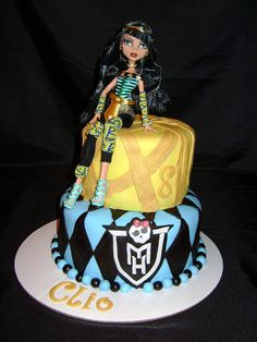 Monster High Cake | Flickr - Photo Sharing!