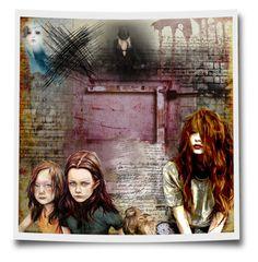 """Souls"" by ildiko-olsa ❤ liked on Polyvore featuring art"