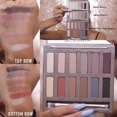Urban Decay Naked Ultimate Basics Swatches