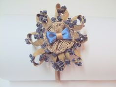diadema bicolor von Errederosa complementos auf DaWanda.com