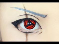 Tutorial : Anime Eye Makeup 117 • Kakashi Hatake
