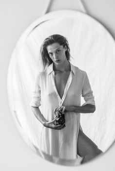 Must-See: Daria Werbowy For Equipment's F/W 2015 Campaign via @WhoWhatWear