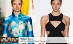 Micheal Kors Spring 2013 Collection #BelleMonde #Fashion #NewYorkFashionWeek