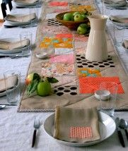 Applique Table Runner | Purl Soho - Create