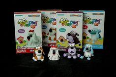 JumpingClay My Pet Series Beagle, Maltese, Schnauzer, Poodle