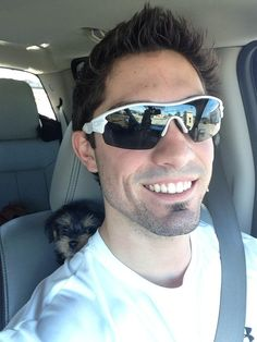 Randal Grichuk and his puppy.  Seriously, so great.
