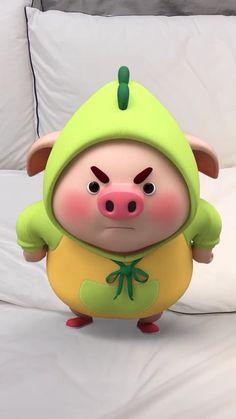 Pig Wallpaper, Dark Wallpaper Iphone, Cute Wallpaper Backgrounds, Cute Cartoon Wallpapers, Cute Piglets, Pig Drawing, Pig Illustration, Cute Fantasy Creatures, Funny Pigs
