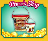 Now you can have your fair and carnival favorites without standing in line! Pence's Carmel Corn Shoppe is located on the square in Bryan and features taffy, candy apples, homemade fudge and more. Stop in for a sweet treat the next time you're in town.