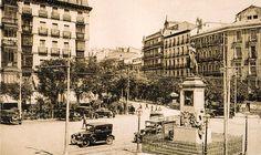 La glorieta de Bilbao en 1920