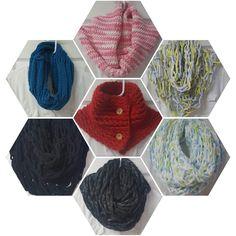 Bufandas y cuellos tejidos diferentes técnicas. Encuéntranos en Facebook @CraftsCreationsbyMaria Facebook, Crafts, Manualidades, Handmade Crafts, Diy Crafts, Craft, Arts And Crafts, Crafting, Artesanato