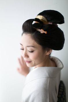 Japanese Hairstyles, Crazy Hair Days, Updo Hairstyle, Nihon, Geisha, Updos, Eyes, Hair Styles, Inspiration