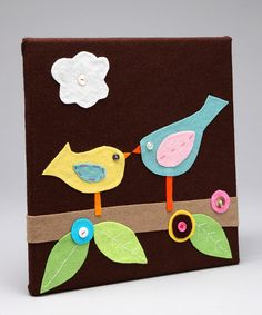 Felt Tiles/ Wall Hangings - cute!-T project