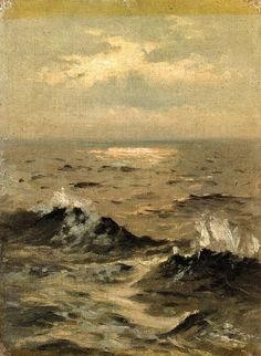John Singer Sargent- Seascape (1875) - Oil on canvas