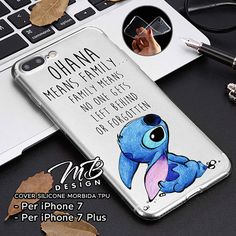 Cover case soft case for iPhone and iPhone 7 Plus 7 Type Lilo Ipod Touch Cases, Bling Phone Cases, Funny Phone Cases, Disney Phone Cases, Iphone Phone Cases, Phone Covers, Iphone 7 Plus, Objet Wtf, Cute Stitch
