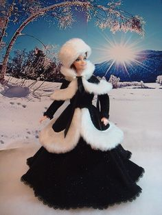 Holiday christmas fashion friends 30 Ideas for 2019 Barbie Gowns, Barbie Dress, Barbie Clothes, Crochet Doll Clothes, Crochet Dolls, Vintage Barbie, Vintage Dolls, Ball Jointed Dolls, Poupées Barbie Collector