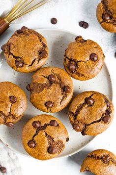 Flourless Pumpkin Muffins (Grain Free) | Eating Bird Food