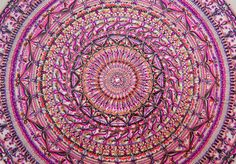 Mandala pink https://instagram.com/mandalastudio/
