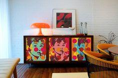 Pop Art na Decoração