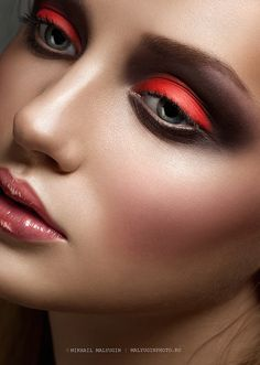 Dazzle them with dangerously pigmented lids. Try the look with Ben Nye's Powder Cheek Rouge (because why should your cheeks have all the fun?!) in Coral Red, $8.00 at crcmakeup.com