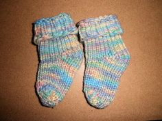 Baby Booties/Mittens - My Loom Knitting Pattern Collection