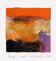 Aug. 1 2013  Original Abstract Oil Painting  by hiroshimatsumoto, $60.00
