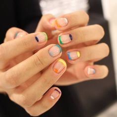 Looking for some elegant negative space nail art designs and ideas? If you want to find a new look in this season, then try some negative space nails. Negative space refers to the area around the object, which is the focus of a particular image. Cute Nails, Pretty Nails, Nail Art Designs, Nails Design, Striped Nail Designs, Hair And Nails, My Nails, Negative Space Nails, Nail Polish