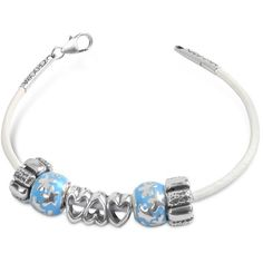 Tedora Baby Boy Sterling Charm Bracelet ($152) ❤ liked on Polyvore featuring jewelry, bracelets, sterling silver charm bracelet, charm bracelet, tedora charms, sterling silver charm bangle and charm jewelry