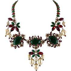 SCHREINER Moghul Style Necklace