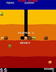 DigDug (Arcade) Got Game, Arcade, Video Games, Nostalgia, Album, Gold, Movie Posters, Style, Swag