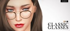 CLASSIC GLASSES at Younzoey • Sims 4 Updates