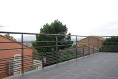 Garde corps de terrasse contemporain