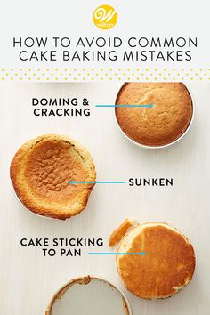 How to Avoid Common Cake Baking Mistakes Whether you're new to baking or you're just looking to fine-tune your skills, these tips and tricks for baking a perfect cake will help you get great results every time! Baking For Beginners, Cake Decorating For Beginners, Cake Decorating Techniques, Cake Decorating Tips, Beginner Baking Recipes, Cake Recipes For Beginners, Baking Secrets, Baking Tips, Baking Hacks