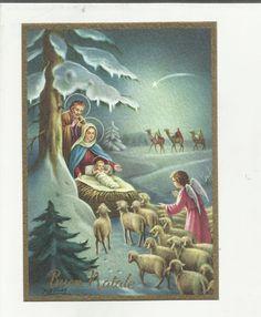 97272 Bella Cartolina Di Buon Natale Illustrata Da P. Ventura • EUR 5,50