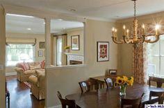 House in La Canada Flintridge, CA 91011 - 3 baths Interior Design Work, Family Rooms, Beautiful Homes, Chandelier, Ceiling Lights, Bath, Dining, House Styles, Home Decor