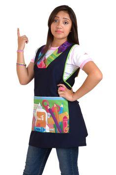Moda Claus . Somos una empresa mexicana preocupada por resaltar los mejores atributos femeninos que muestren la propia esencia e identidad en la imagen de las Maestras y Educadoras de nuestro país Teacher Dresses, Dress Codes, I Got This, Apron, Dress Up, Costumes, Education, Sewing, Casual