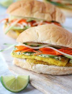 eh vegan banh mi Vietnamese sandwich