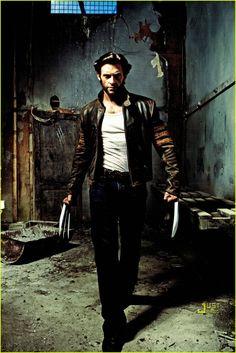 Wolverine... I mean, Hugh Jackman. No. Just Wolverine. :)
