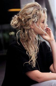 Imagem de naturally, blonde, and hair