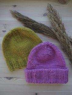 New to knitting -mössa Novita Hygge Wool Hygge, Circular Needles, Knitting For Kids, Stockinette, Cute Kids, Mittens, Stitch Patterns, Knitted Hats, Winter Hats
