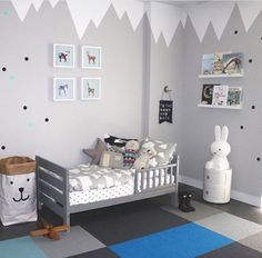 This room is so adorable!Thanks for the tag - Home Decor For Kids And Interior Design Ideas for Children, Toddler Room Ideas For Boys And Girls Toddler Rooms, Baby Boy Rooms, Baby Bedroom, Baby Room Decor, Home Decor Bedroom, Bedroom Ideas, Bedroom Wall, Bedroom Apartment, Nursery Ideas