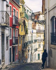 These Lisbon streets It pays to wander off the beatenhellip