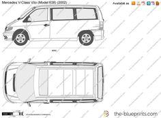 Mercedes vito dimensions load #1