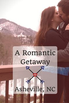 """A Romantic """"Staycation"""" Getaway In Asheville, North Carolina #couplestravel #romance #valentines #MAWPrints"""
