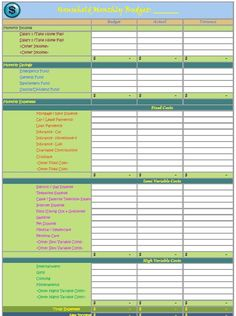 The Basics Of A Monthly Budget Planner Free Printable On Http