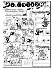 halloween worksheet free esl printable worksheets made by teachers