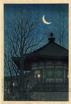 """Fading Light""   Uehara Konen   1928"