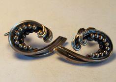 Sterling Silver Margot de Taxco Earrings
