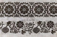 вышивка монохром орнамент - Поиск в Google
