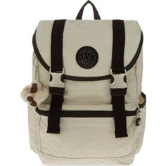 KIPLING Experience small backpack ($98) ❤ liked on Polyvore featuring bags, backpacks, dazz cream mix, nylon bag, nylon backpack, kipling backpack, drawstring flap backpack and nylon drawstring bags
