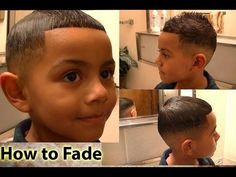 How to Fade - Tutorial For Cutting Hair at Home